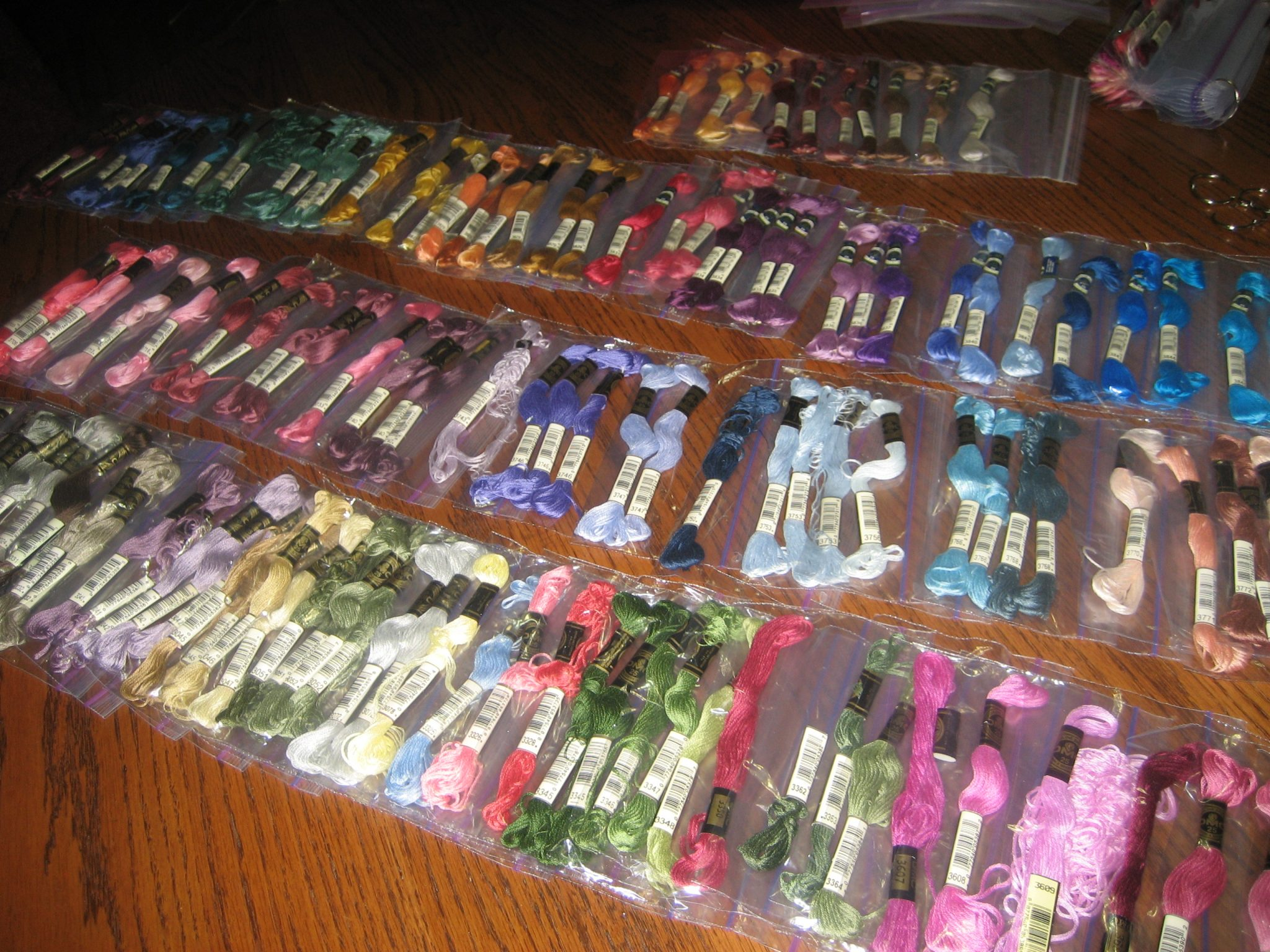 A Jones For Organizing Embroidery Floss Storage And Organization