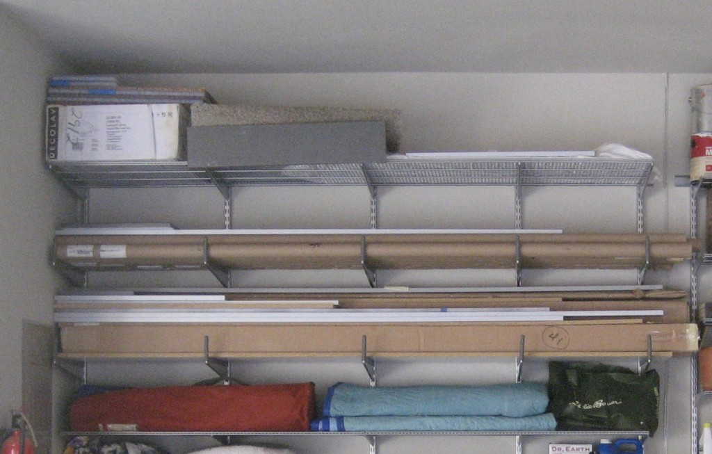 long thin boxes stored horizontally