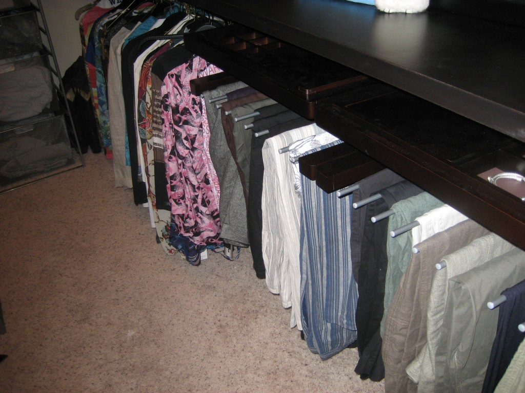 pants racks