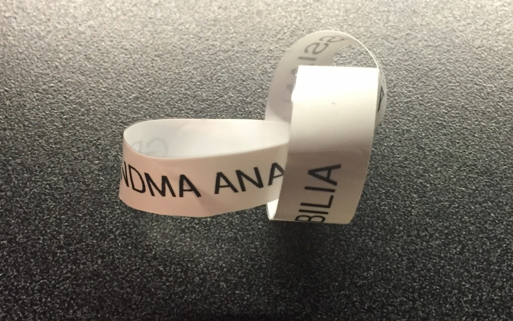 labelmaker tape twisted up - A Jones For Organizing