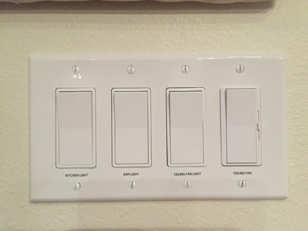 labels for light switches - A Jones For Organizing