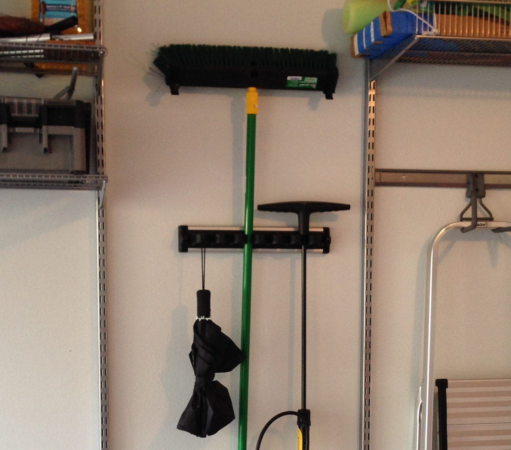 A Jones For Organizing grook hook in garage