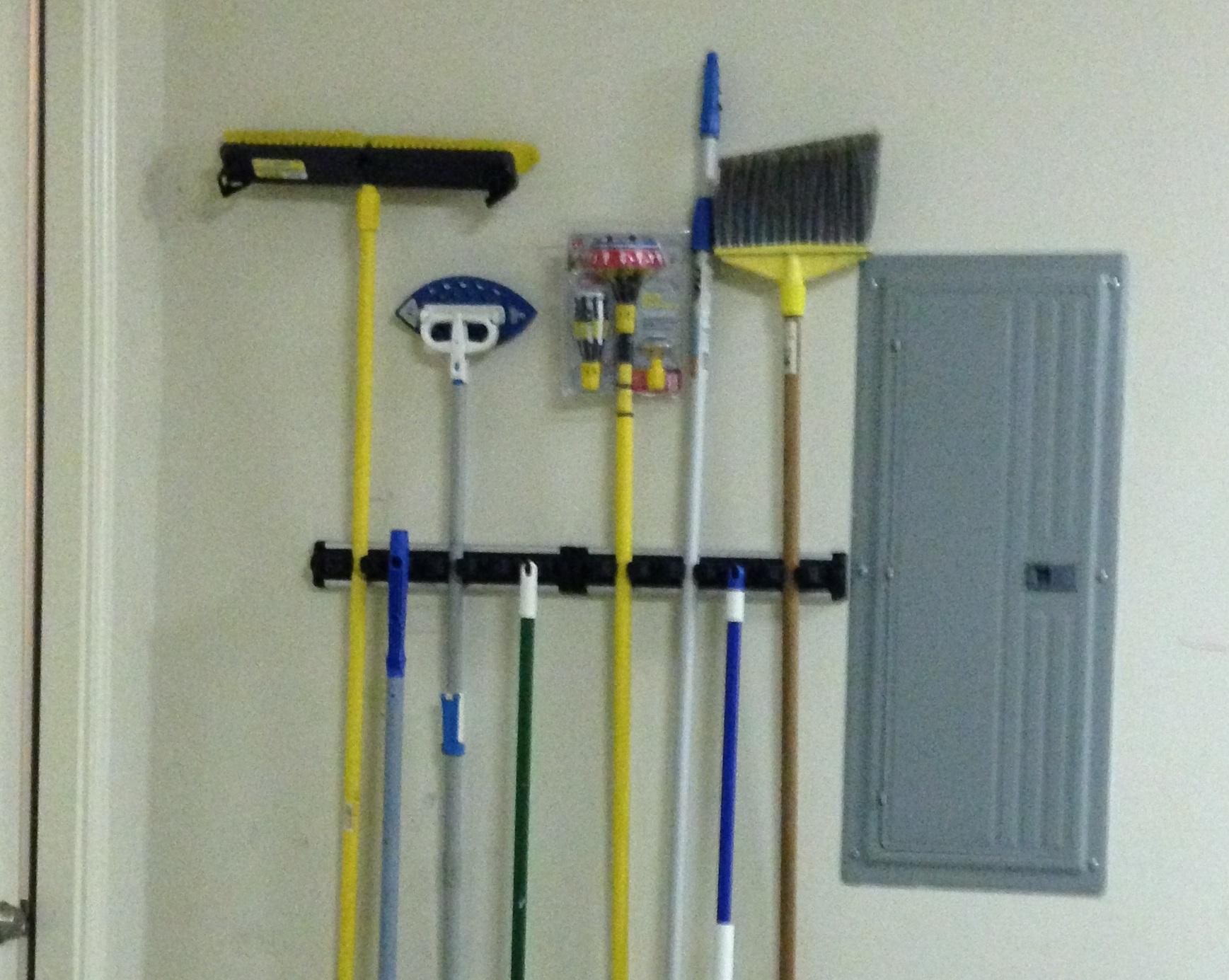 Mop And Broom Holder Diy 37 Insanely Smart Diy Storage