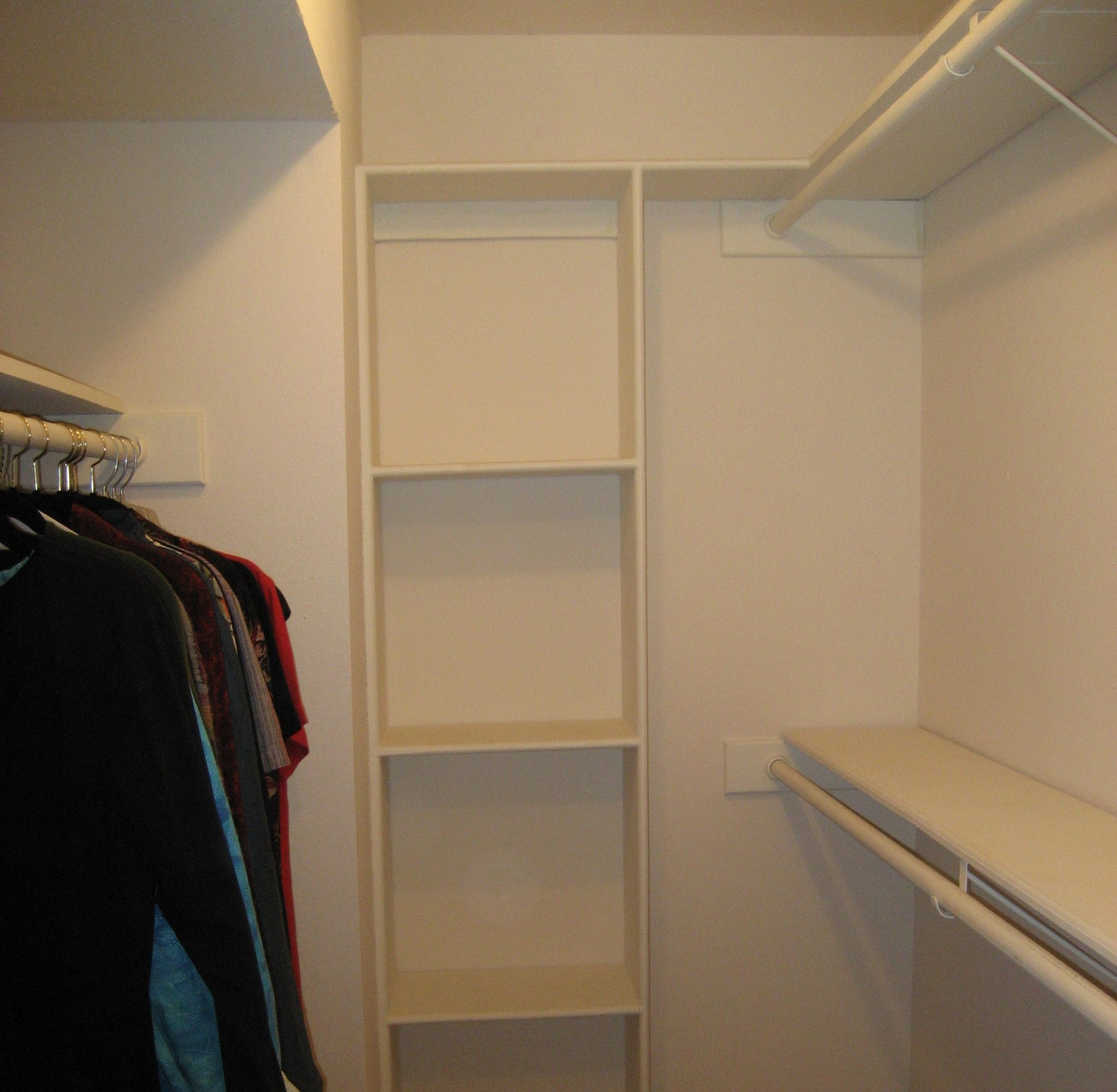 Now, This Closet Is In Austin, Texas. If The Builder Had Intended These  Built In Cubbies To Be Used For Storing A Collection Of Cowboy Boots, The  Height Of ...